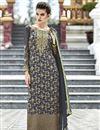 image of Grey Georgette Designer Pakistani Salwar Suit