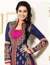 photo of Shraddha Kapoor Navy Blue Patiala Salwar kameez