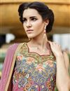 photo of Pink Art Silk Embroidered Salwar Kameez