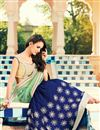 photo of Enchanting Embroidered Georgette And Net Saree