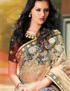 photo of Enchanting Embroidered Net And Satin Saree