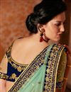 photo of Lavishing Wedding Wear Embroidered Net Saree