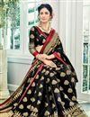 photo of Wedding Wear Cotton Silk Fancy Weaving Work Saree