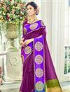 image of Designer Function Wear Cotton Silk Fancy Saree