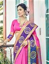 photo of Weaving Work Traditional Function Wear Fancy Saree