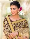 photo of Wedding Function Wear Lycra And Net Embroidered Saree