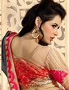 photo of Chiffon Grey And Pink Festive Wear Saree With Creative Embroidery Work