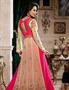 photo of Malaika Arora Elegant Embroidery On Beige Party Wear Anarkali Suit In Georgette