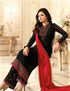 image of Drashti Dhami Embellished Georgette Palazzo Suit