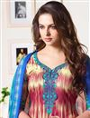 photo of Multi Color Printed Straight Cut Cotton Fabric Churidar Dress