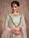 photo of Exclusive Green Net Fabric Wedding Wear 3 Piece Lehenga Choli With Embroidery Work