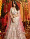 image of Exclusive White Color Designer Wedding Lehenga