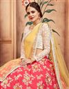 photo of Exclusive Traditional Function Wear Red Embroidered Lehenga Choli In Taffeta Silk