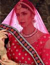 photo of Exclusive Wedding Wear Embroidered Fancy Lehenga Choli In Navy Blue