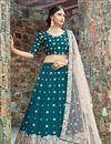photo of Exclusive Fancy Art Silk Wedding Wear Designer Lehenga Choli