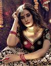 photo of Designer Embroidered Maroon Color Wedding Wear Velevet Fabric Lehenga Choli