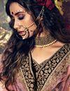photo of Wedding Wear Maroon Color Designer Velevet Fabric Embroidered Lehenga Choli