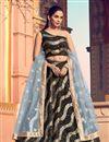 image of Fancy Fabric Wedding Wear 3 Piece Lehenga