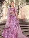 image of Pink Color Designer Sequins Work Lehenga Choli
