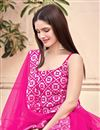 photo of Rani Color Fancy Work Georgette Fabric Palazzo Suit