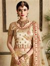 photo of Best Selling Exclusive Wedding Function Wear Lehenga In Satin Fabric With Embroidery