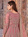 photo of Pink Color Net Fabric Function Wear Embroidered Anarkali Salwar Kameez
