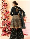 photo of Drashti Dhami Embellished Georgette Designer Party Wear Sharara Palazzo Suit