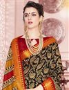 photo of Cotton Silk Fabric Printed Casual Style Saree In Cream