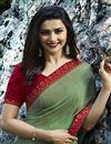 photo of Prachi Desai Occasion Wear Printed Saree In Georgette