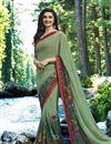 image of Prachi Desai Occasion Wear Printed Saree In Georgette