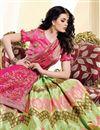 photo of Occasion Wear Sea Green Weaving Work Lehenga In Jacquard Silk Fabric With Designer Blouse