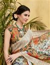 photo of Fancy Art Silk Fabric Multi Color Daily Wear Printed Saree