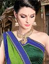 photo of Multi Color Fancy Printed Casual Wear Saree In Chiffon Fabric