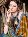 photo of Chiffon Fabric Multi Color Fancy Printed Casual Wear Saree