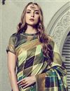photo of Festive Wear Art Silk Fancy Multi Color Saree With Print Work