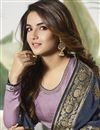 photo of Jasmin Bhasin Party Style Satin Silk Palazzo Dress With Embroidery Work