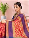 photo of Red Festive Wear Art Silk Weaving Work Saree