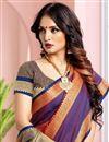 photo of Festive Wear Art Silk Red Weaving Work Saree
