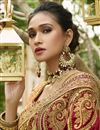 photo of Maroon Embellished Designer Wedding Wear Art Silk Fancy Saree