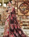 image of Daily Wear Georgette Fabric Beige Printed Saree