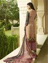 photo of Crepe Fabric Fancy Printed Palazzo Salwar Kameez In Pink