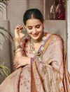 photo of Traditional Wear Art Silk Designer Pink Digital Printed Saree