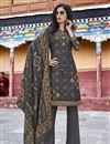 image of Designer Grey Party Wear Salwar Kameez In Art Silk