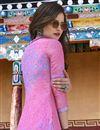 photo of Designer Art Silk Party Wear Salwar Kameez In Pink