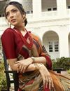 photo of Georgette Alluring Multi Color Festive Wear Printed Saree