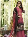 image of Peach Cotton Fabric Fancy Printed Casual Wear Palazzo Suit