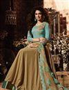 image of Eid Special Jennifer Winget Long Floor Length Anarkali Salwar Suit In Lycra Fabric