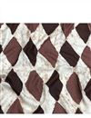image of Brown Vector Graphic Prints On Rayon Fabric