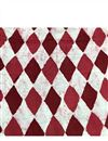 photo of Maroon Vector Graphic Prints On Rayon Fabric