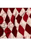 image of Maroon Vector Graphic Prints On Rayon Fabric